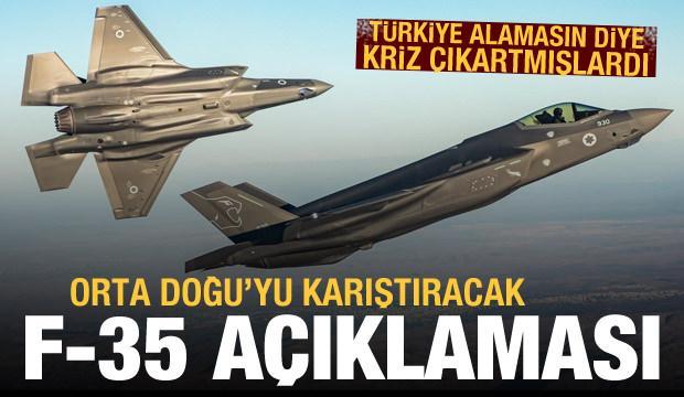 Türkiye'ye çelme takmışlardı! Orta Doğu'yu karıştıracak F-35 açıklaması