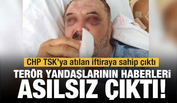 Van'daki helikopter iddiaları asılsız çıktı!  CHP terör örgütünün iftirasına sahip çıktı