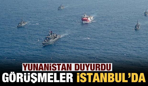 Yunanistan açıkladı: Türkiye ile görüşmeler İstanbul'da yapılacak