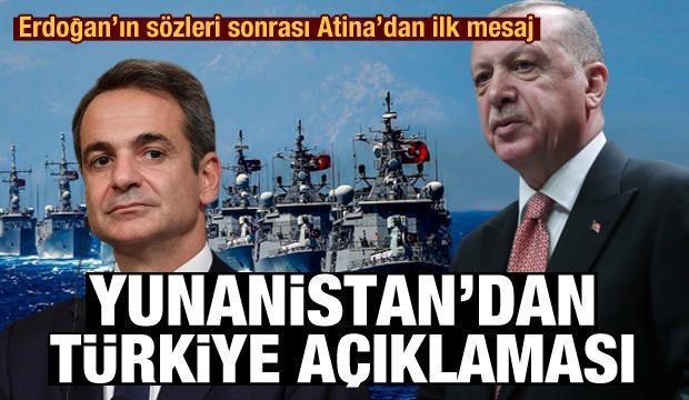Yunanistan'dan son dakika Türkiye açıklaması! Mesaj gönderdiler