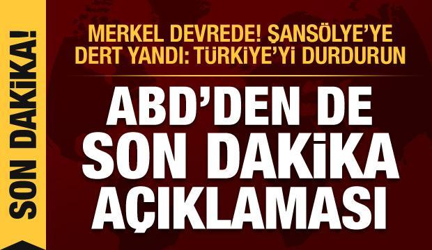 ABD'den Ermenistan-Azerbaycan açıklaması! Paşinyan da Merkel'e ağladı: Türkiye'yi durdurun