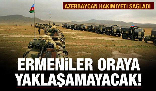 Azerbaycan o bölgeye Ermenileri yaklaştırmayacak