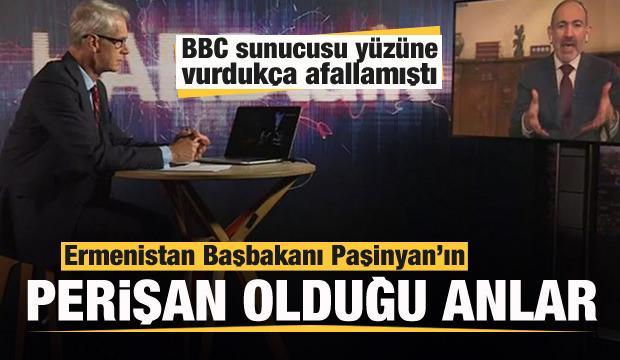 BBC sunucusu tarihi gerçekleri yüzüne vurdukça afallamıştı! Paşinyan'ın perişan olduğu anlar...