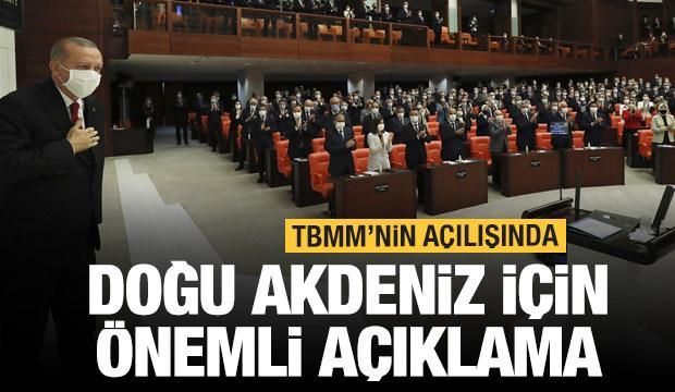 Erdoğan'dan çok önemli açıklamalar! TBMM yeni yasama yılına başlıyor