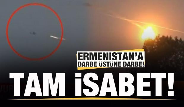 Ermeni hava aracı böyle vuruldu!