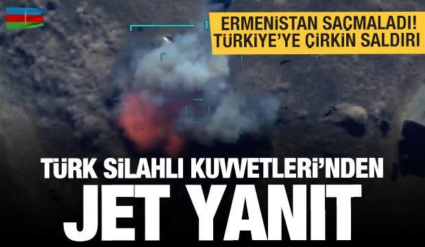 Ermenistan iyice afalladı! Türkiye'ye çirkin saldırı! MSB'den son dakika açıklaması