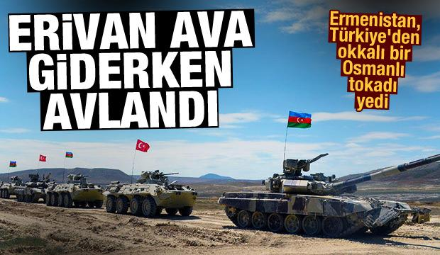 Ermenistan, Türkiye'den okkalı bir Osmanlı tokadı yedi! Ava giderken avlandılar