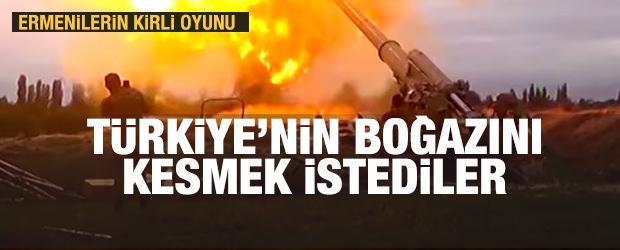 Ermenilerin kirli oyunu deşifre oldu! Türkiye'nin boğazını kesmek istediler!