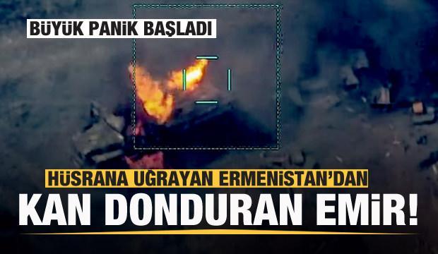Hüsrana uğrayan Ermenistan'dan kan donduran emir! Büyük panik başladı