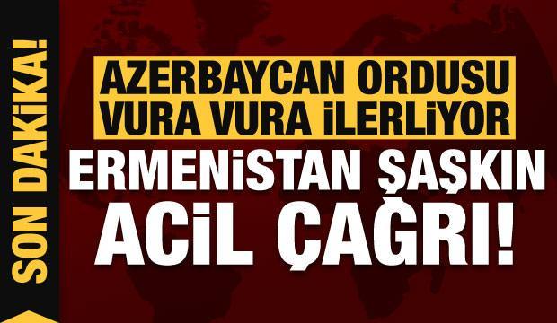 Son dakika: Azerbaycan vura vura ilerliyor! Ermenistan ağır kayıplar veriyor...
