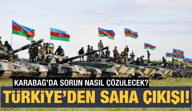 Son dakika haberi: Çavuşoğlu'ndan çok önemli Azerbaycan açıklaması