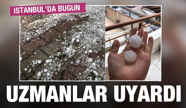 Son dakika: İstanbul'da dolu! Yarına dikkat! 10 derece birden...