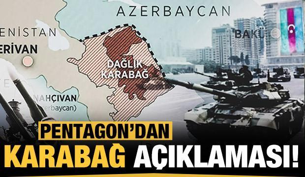 Pentagon'dan Dağlık Karabağ açıklaması!