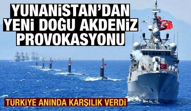 Yunanistan'dan Doğu Akdeniz'de NAVTEX provokasyonu! Türkiye'den anında karşılık