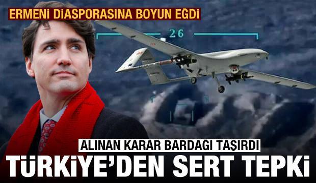 Kanada'nın 'silah ihracatını askıya aldık' kararına Türkiye'den çok sert tepki