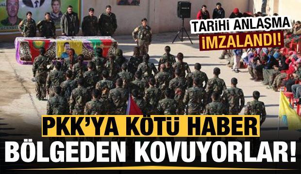 Irak'tan PKK'ya kötü haber! Bölgeden kovuyorlar