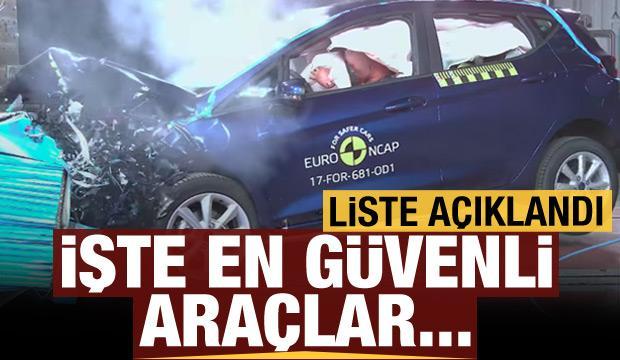 İşte Euro NCAP'a göre en güvenli araçlar