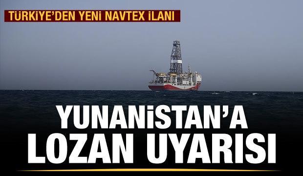 Türkiye'den Yunanistan'a Lozan uyarısı