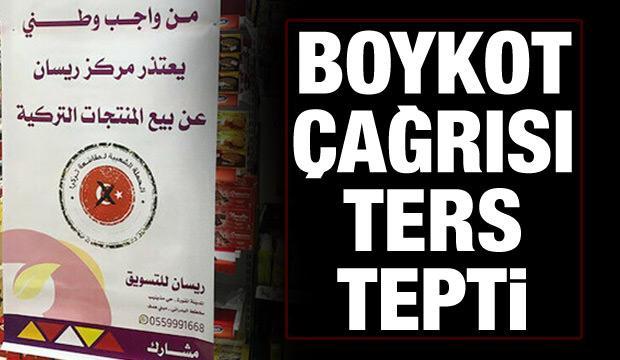 Boykot ters tepti: Arap aktivistlerden Türkiye'ye destek