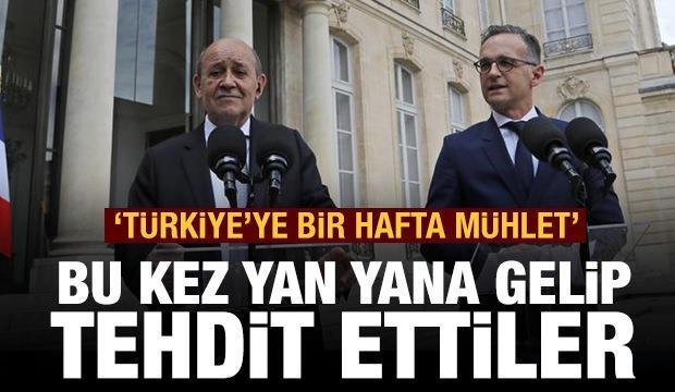 Bu kez yan yana gelip tehdit ettiler: Türkiye'ye bir hafta mühlet!