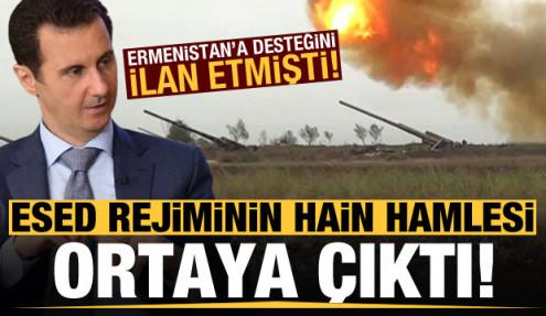 Ermenistan'a desteğini ilan etmişti, Esed harekete geçti!