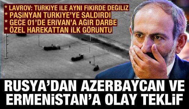 Rusya'dan Türkiye'ye Ermenistan mesajı! Paşinyan Ankara'ya saldırdı, Gece 01'de ağır darbe