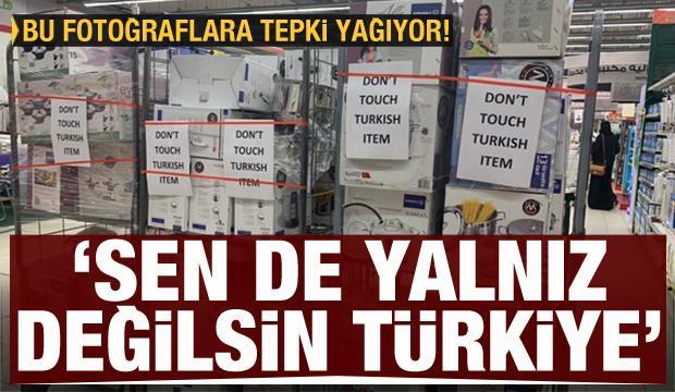 S.Arabistan'daki bu fotoğrafa tepki yağıyor: Sen de yalnız değilsin Türkiye