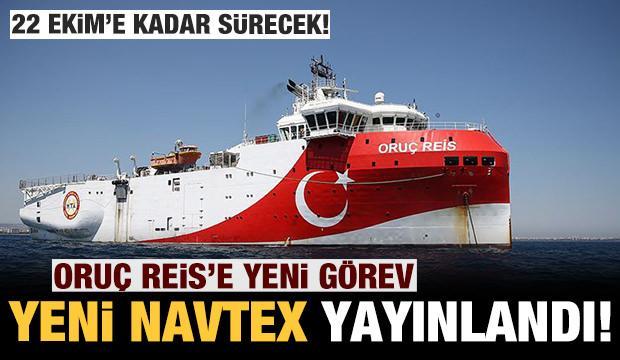 Son dakika: Türkiye'den Oruç Reis hamlesi: Yeni Navtex yayınlandı!