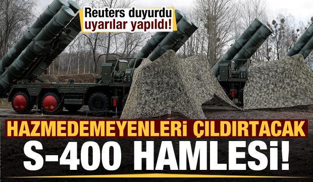 Türkiye'den hazmedemeyenleri çıldırtacak S-400 hamlesi!
