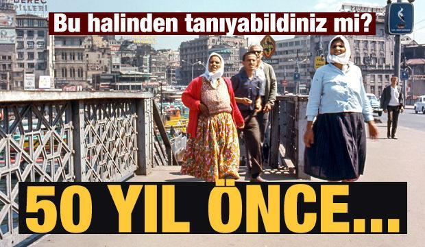 1970'li yıllarda İstanbul! Nereden nereye diyeceksiniz...