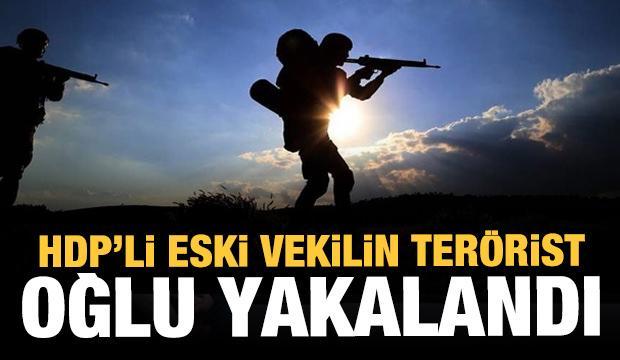 Amanoslar'da eski HDP Milletvekili'nin oğlu yakalandı!
