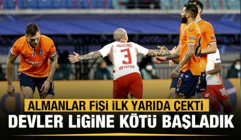 Başakşehir Şampiyonlar Ligi'ne mağlubiyetle başladı