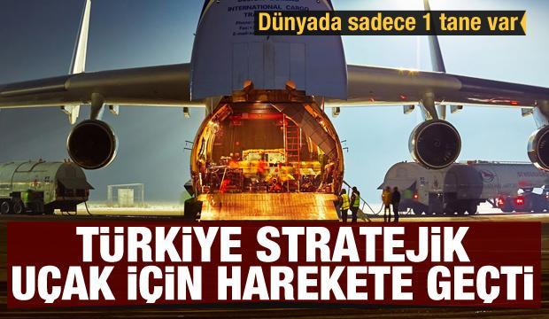 Dünyada sadece 1 tane var! Stratejik uçak için Türkiye harekete geçti