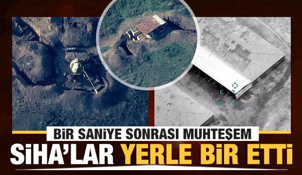 Ermenistan ordusu perişan! Azerbaycan ordusu SİHA'larla böyle vurdu