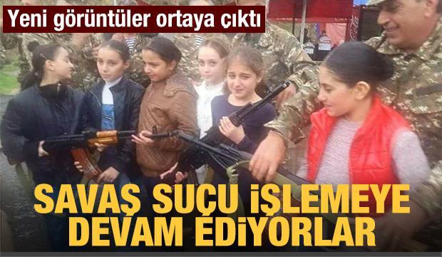 Ermenistan'ın çocuk askerleri cepheye gönderilmeye devam ediyor