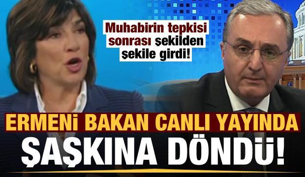 Ermenistan'ın Dışişleri Bakanı'na CNN'den soğuk duş!