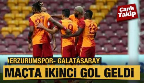 Erzurumspor - Galatasaray! CANLI