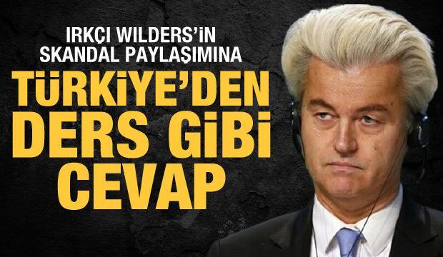 İletişim Başkanı Altun'dan ırkçı Wilders'e tepki: Her bedeli ödeyerek savunacağız