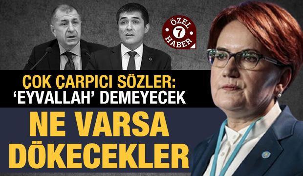 Özdağ'ın iddiasına çarpıcı yorum: İYİ Parti'de çatlak büyüyor, testi su sızdırıyor