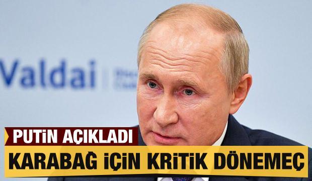 Putin'in, Dağlık Karabağ sözleri dengeleri değiştirebilir!