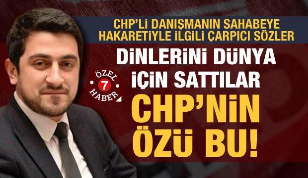 'Sahabe Mus'ab bin Umeyr'e hakaret eden Mücahit Avcı CHP'nin özü ve özetidir'