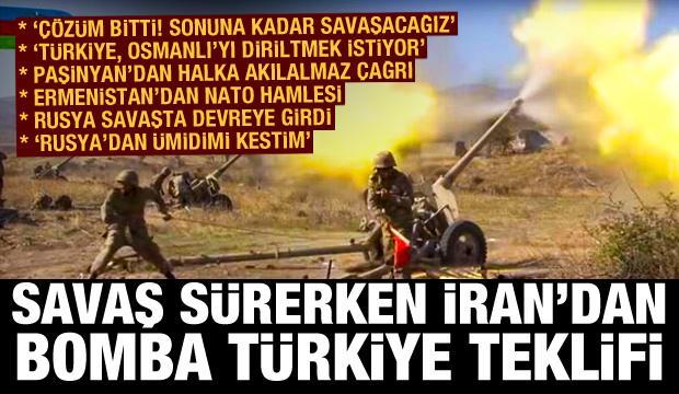 Savaşta devreye Rusya girdi! İran'dan bomba Türkiye teklifi, Ermenistan'dan NATO hamlesi