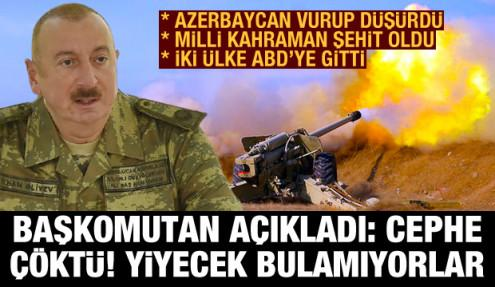 Savaşta Ermenistan dağıldı: Güney cephesi çöktü! Azerbaycanlı milli kahraman şehit düştü