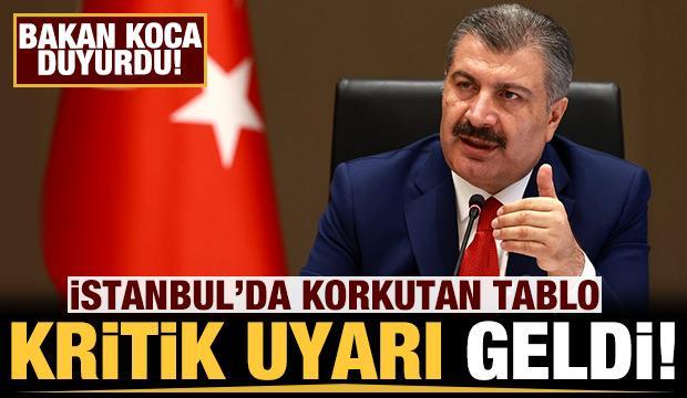 Son dakika: Bakan Koca duyurdu: İstanbul için kritik uyarı