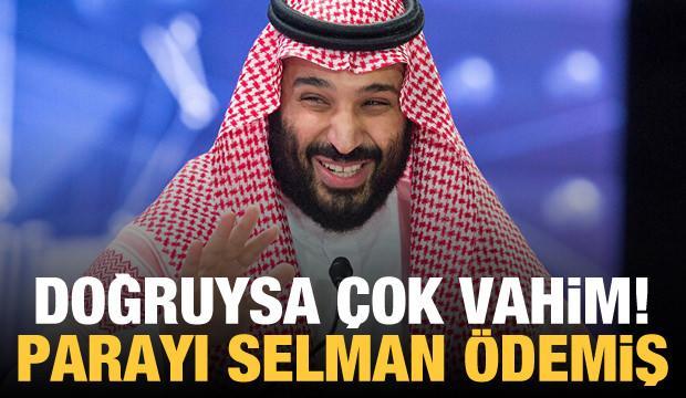 'Sudan'ın ABD'ye gönderdiği rüşveti Prens bin Selman ödedi'