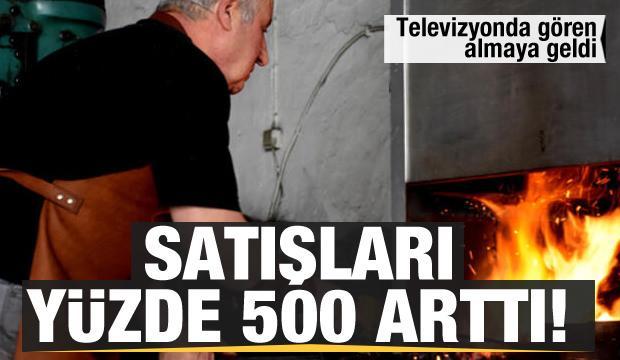 Televizyonda gören geldi! Satışları yüzde 500 arttı...