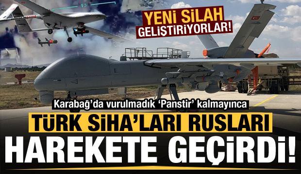 Son dakika: Türk SİHA'ları Rusları harekete geçirdi! Yeni silah geliştiriyorlar...