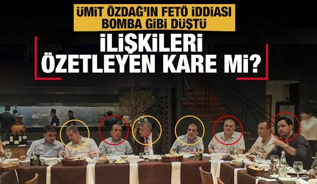 Ümit Özdağ Buğra Kavuncu'nun FETÖ'cü olduğunu iddia etmişti! İlişkileri  özetleyen kare mi? - GÜNCEL Haberleri