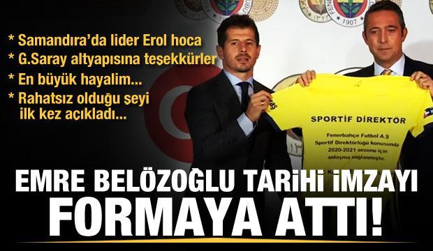 Emre Belözoğlu'dan 1 yıllık imza!