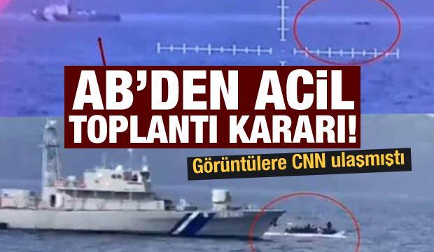 """AB Frontex'i """"acil"""" toplantıya çağırdı!"""